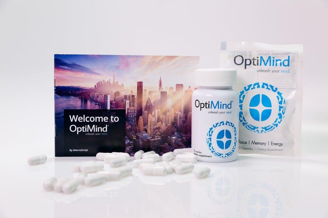 OptiMind nootropics for sharper focus and enhanced cognitive performance
