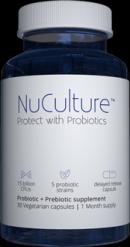 Bottle Of NuCulture Probiotics