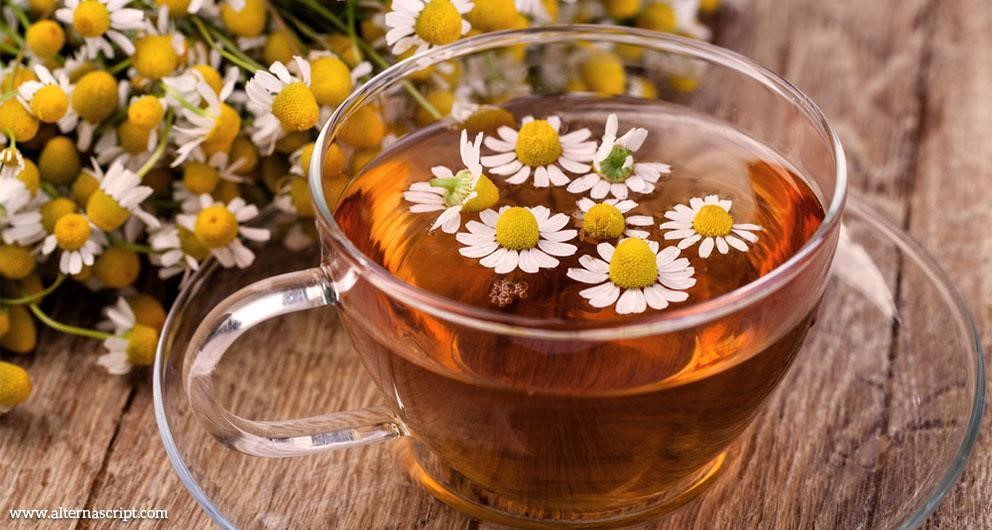 Chamomile tea - Aids You in Getting a Good Night's Sleep