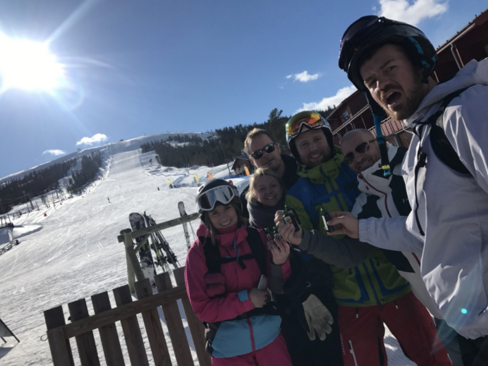 AWX team on conference trip
