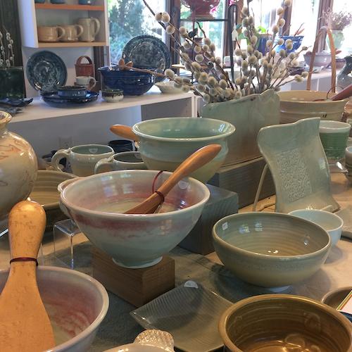 Pottery bowls