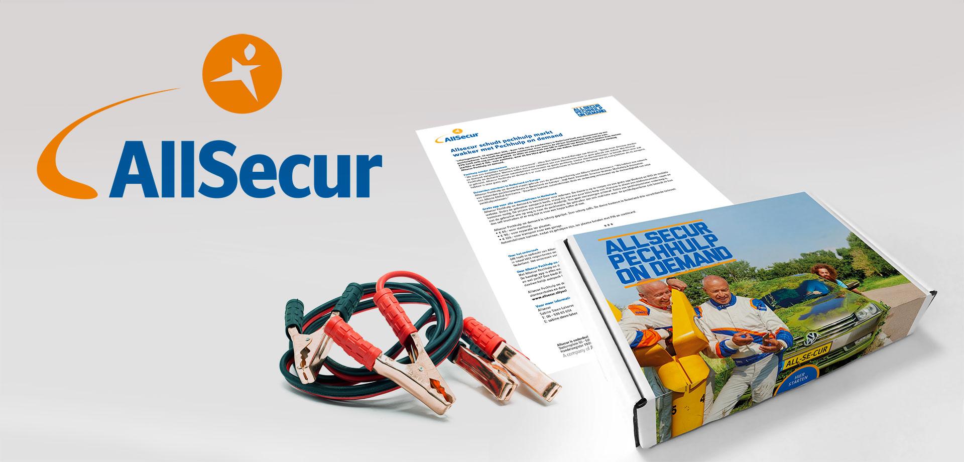 Direct mailing pechhulp on demand - Allsecur