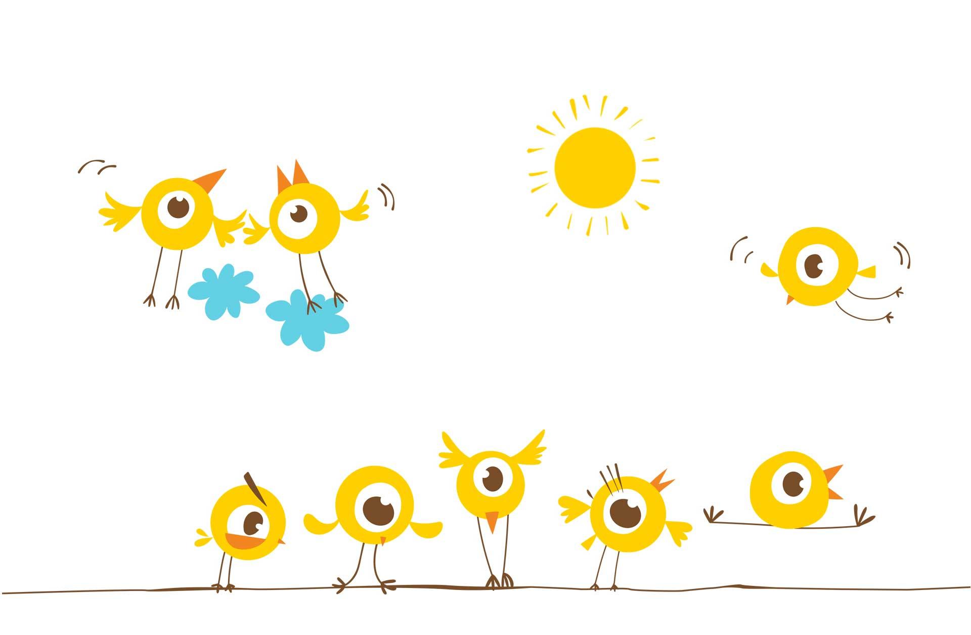 Dag van de duurzaamheid - vogeltjes