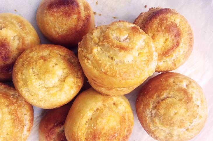 Coconut rolls