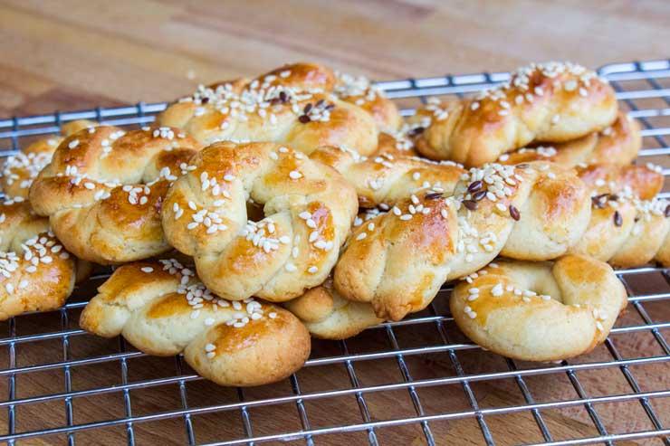 Braided cookies