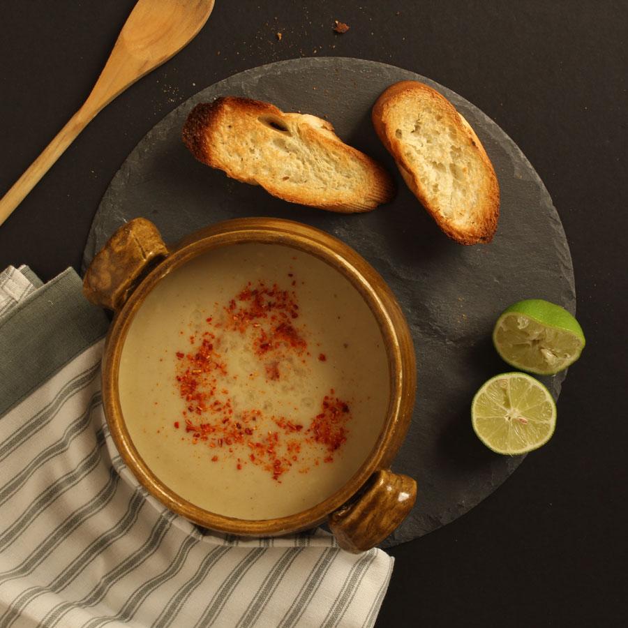 Mkhlout Soup