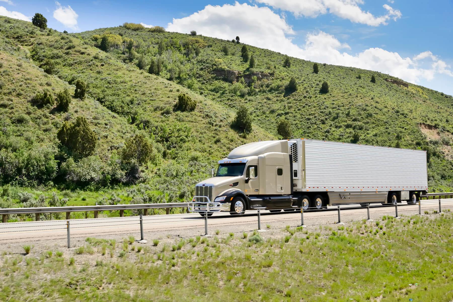 Refrigerated Semi Truck Trailer