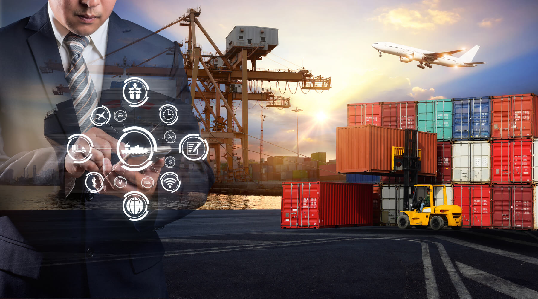 cellphone logistics at port