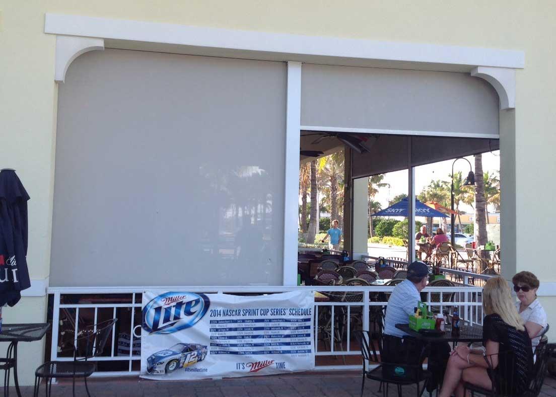 Restaurant windows