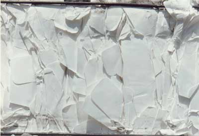 Hard White Envelope Cuttings