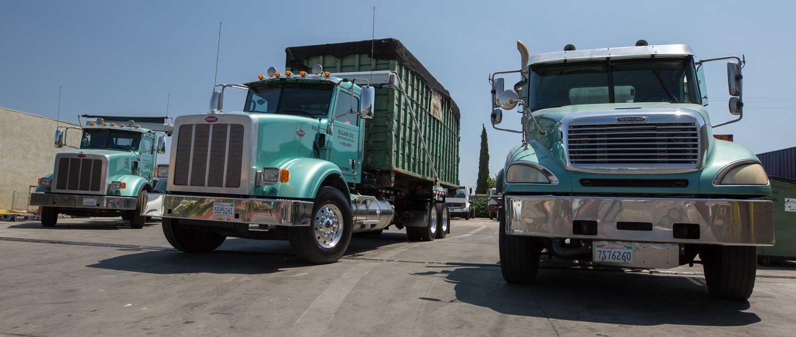 Allan Compant Recycling Trucks