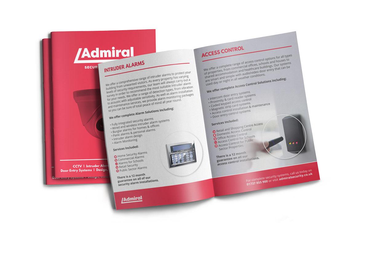 Admiral Brochure