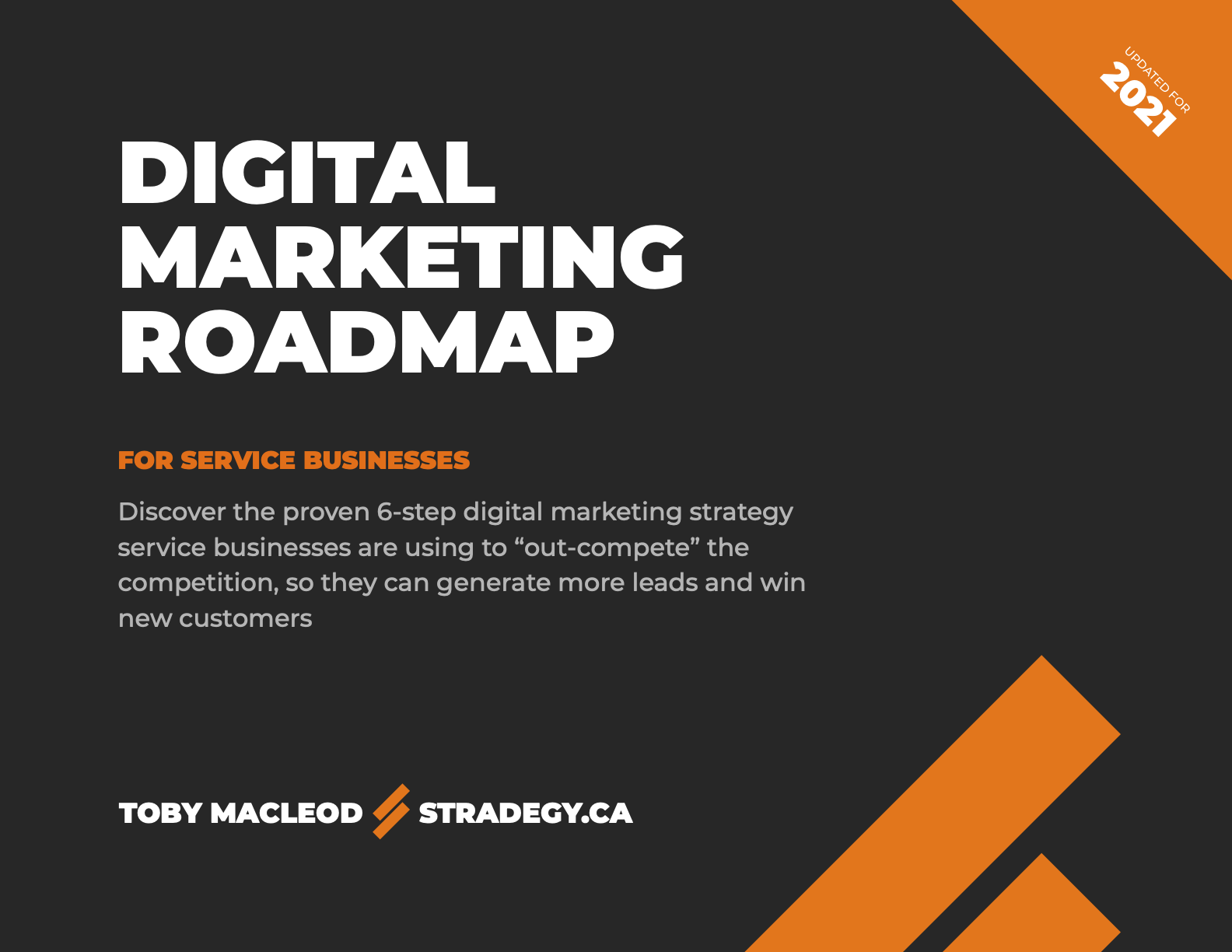 Cover of Digital Marketing Roadmap For Service Businesses