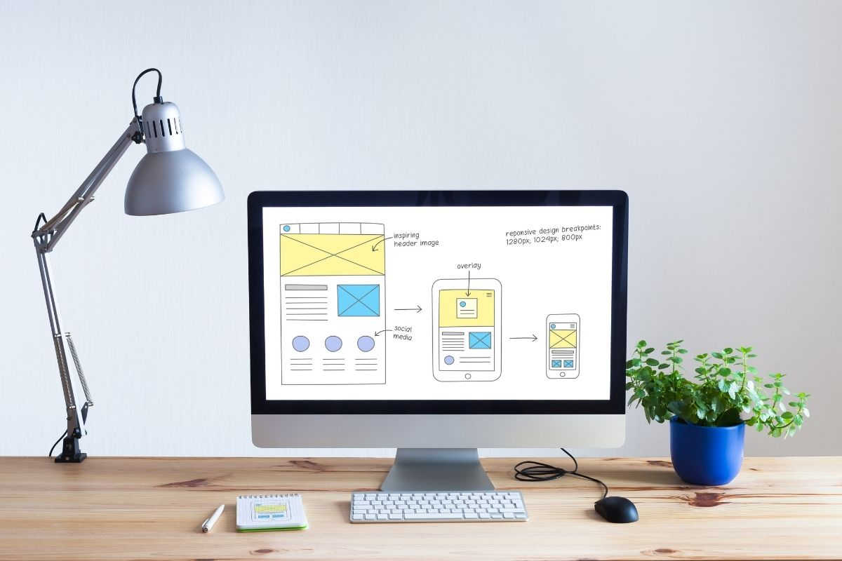 Organizing the services on your website