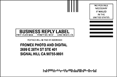 Mail order film processing