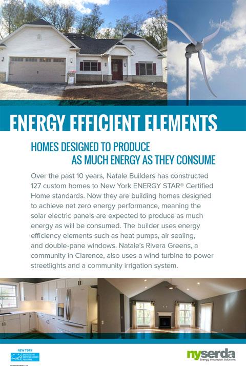 Energy efficient elements