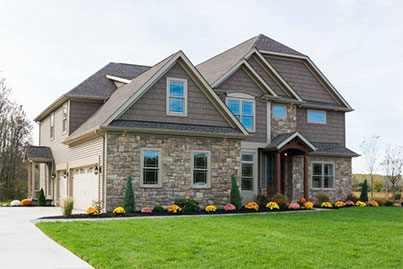complete home exterior