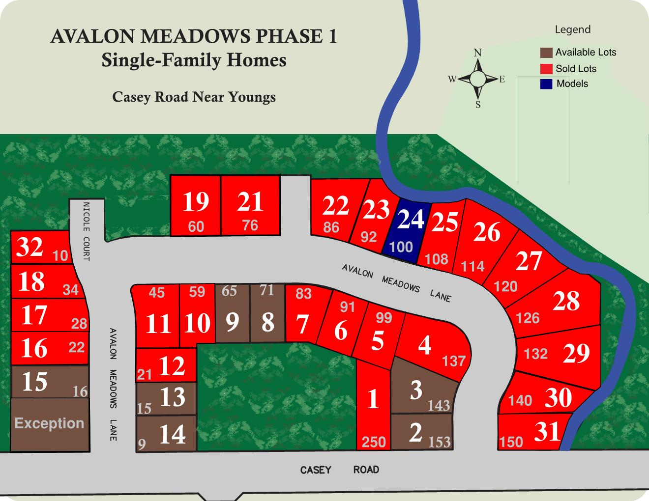 avalon meadows map