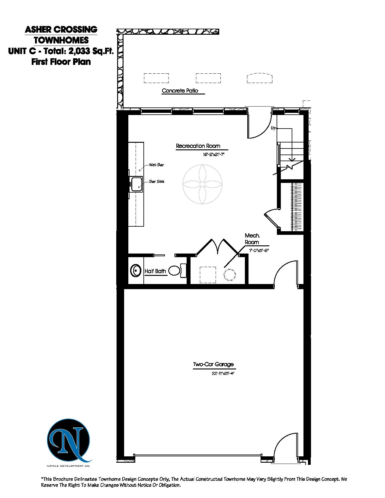 Asher crossing floor plans Unit c