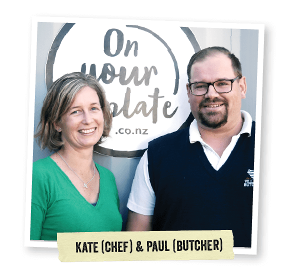 On Your Plate - Kate & Paul