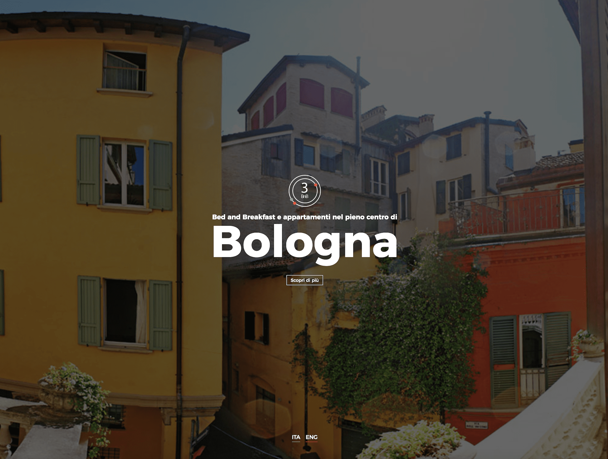 Sito internet del Bed and Breakfast di Bologna 3bnb