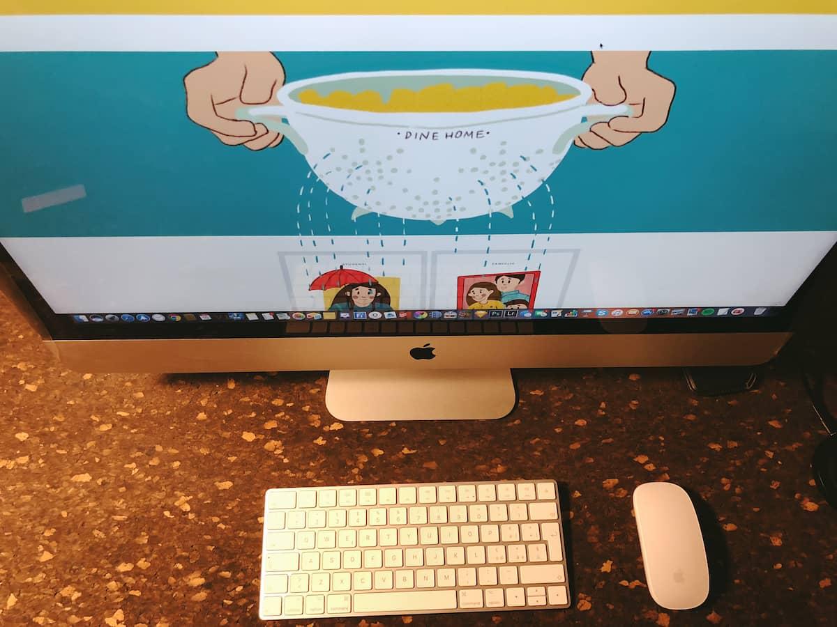 Realizzazione sito web Dine Home