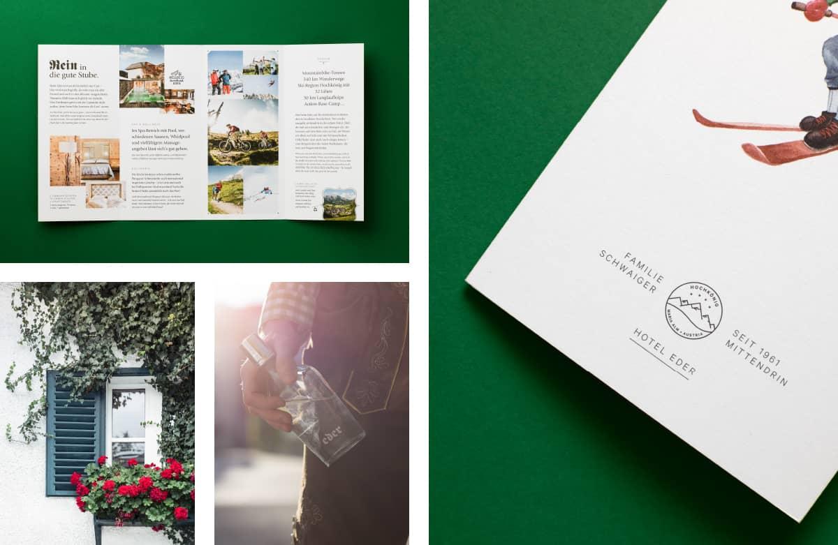 Branding Inspiration - Hotel Eder