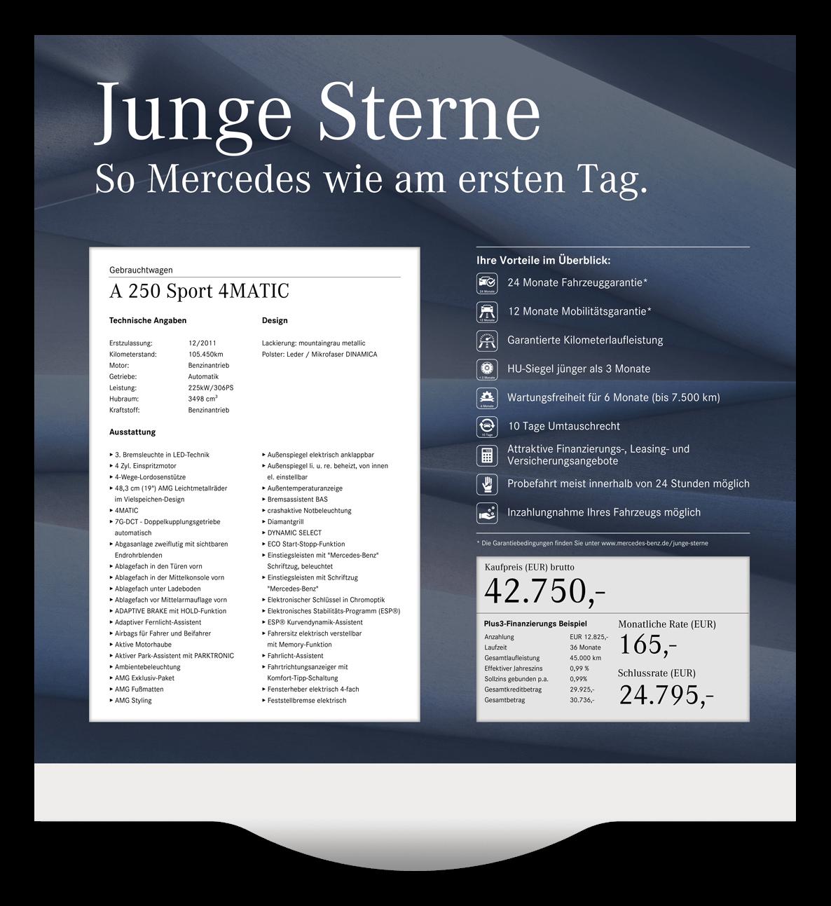Elektronisches Preisschild Mercedes-Benz