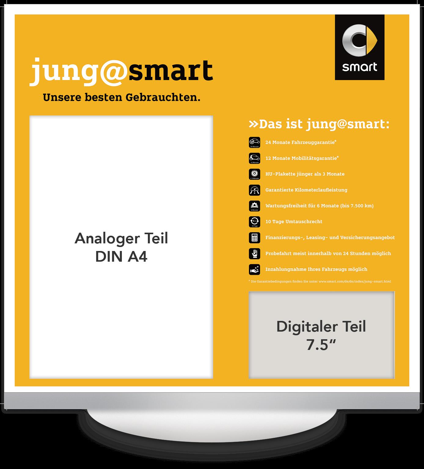 Elektronisches Preisschild 7.5 Zoll Smart Jung@Smart Design
