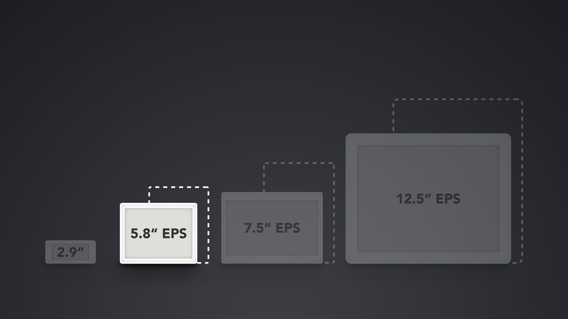 """Vergleich ESL Displays 5.8"""""""