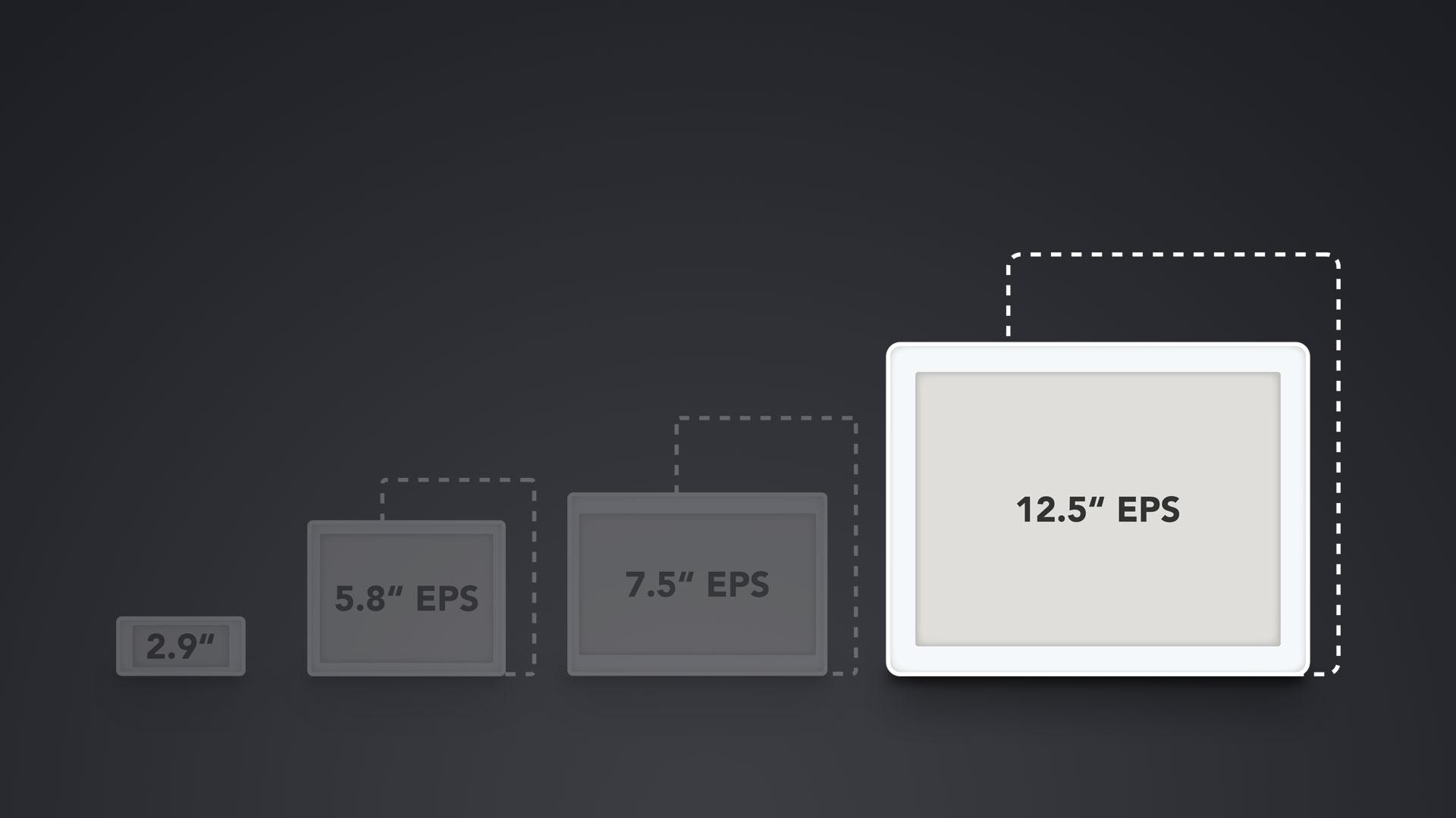 """Vergleich ESL Displays 12.5"""""""