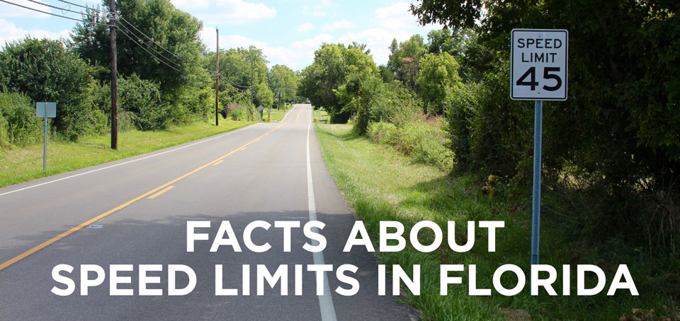 Facts About Speed Limits in Florida