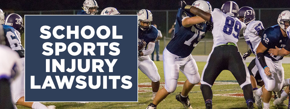school sports injury lawsuits