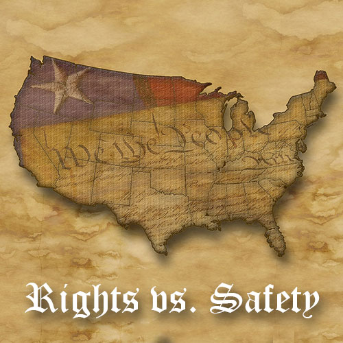 us constitution - rights vs safety