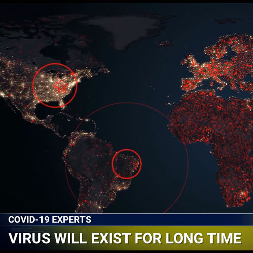 covid hotspots map