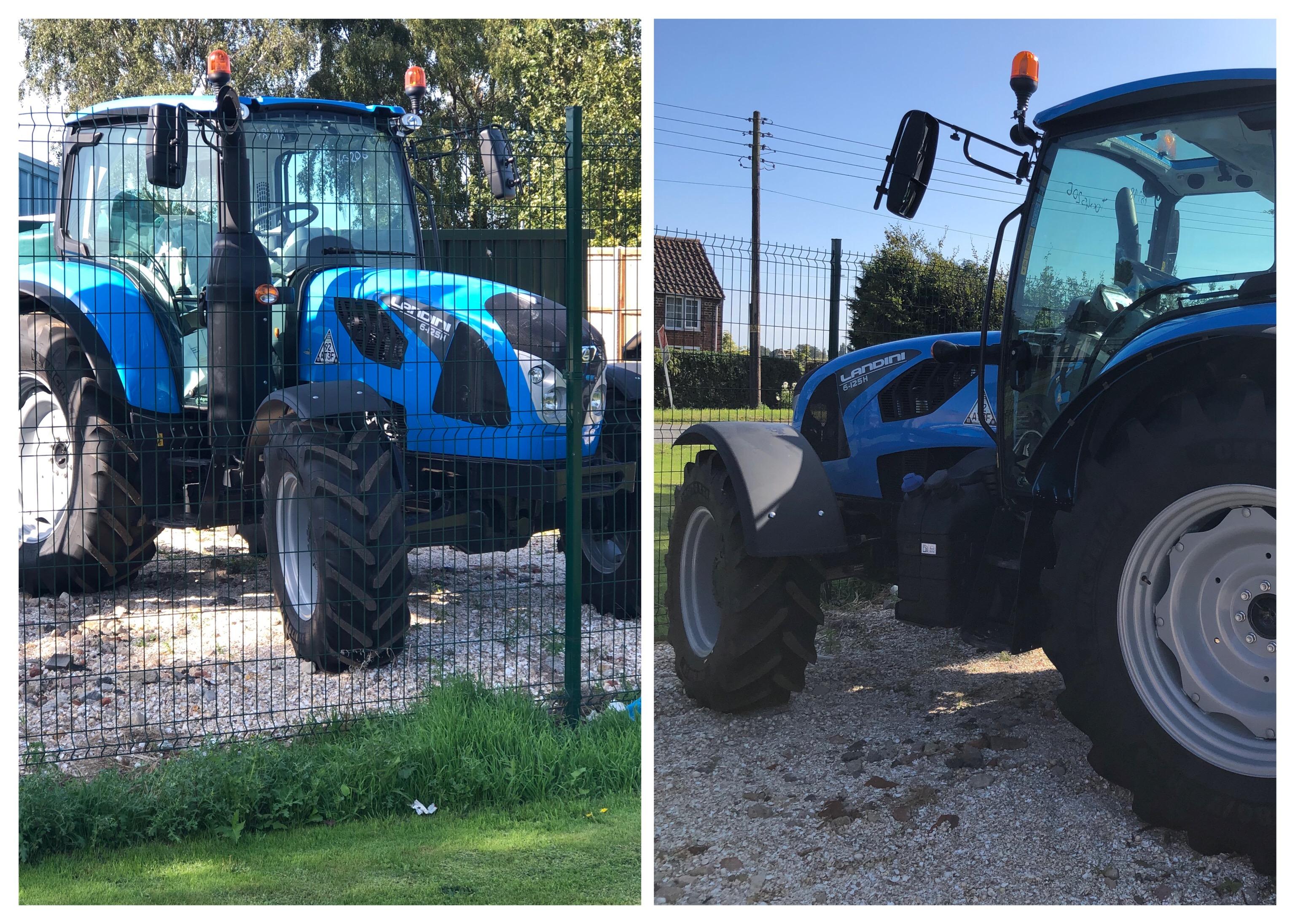 Landini Tractor 6-125H - NEW