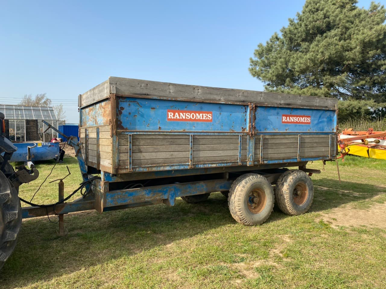 Ransomes Tipping Trailer