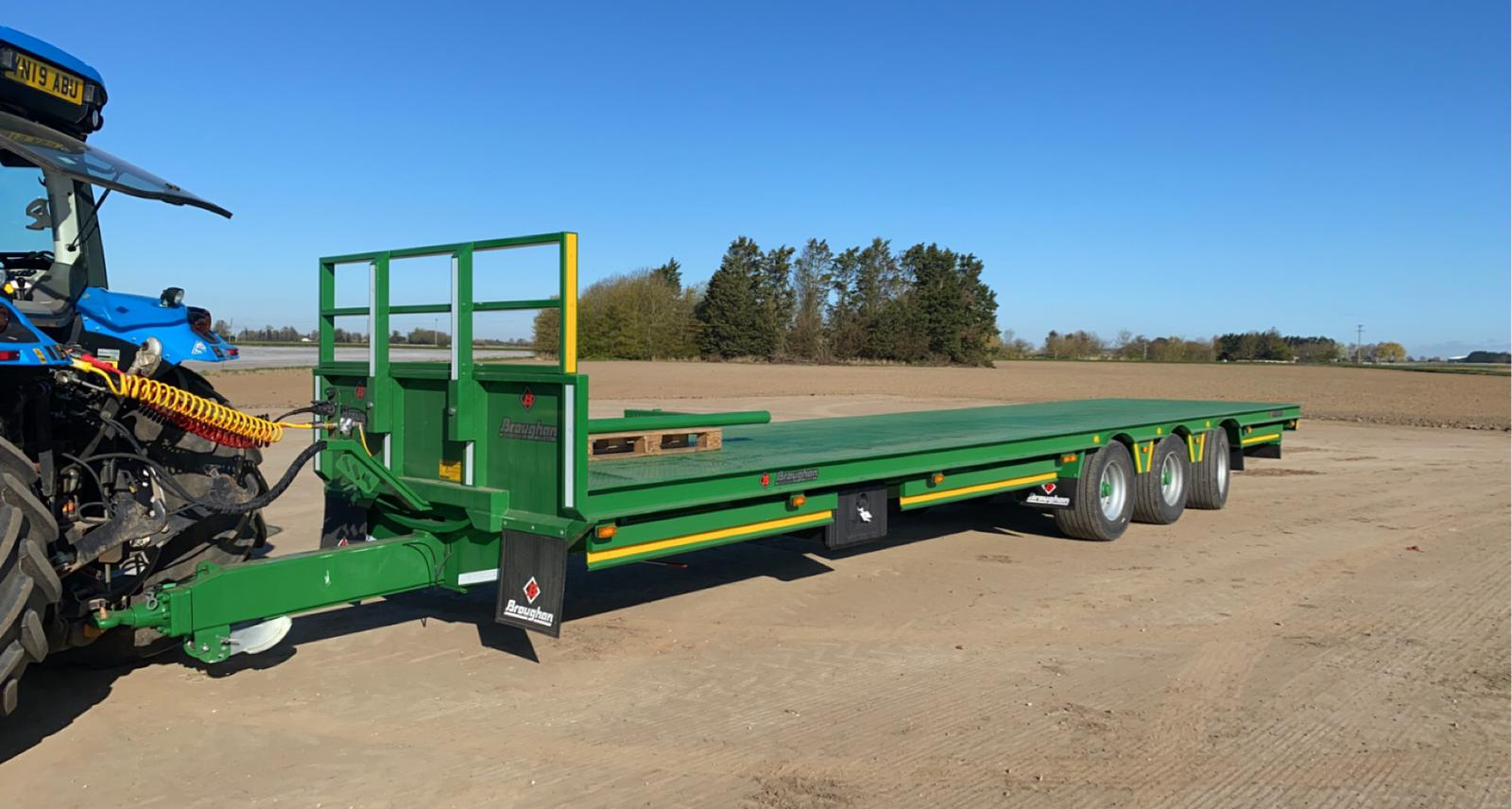 Broughan 37ft Tri-Axle Trailer