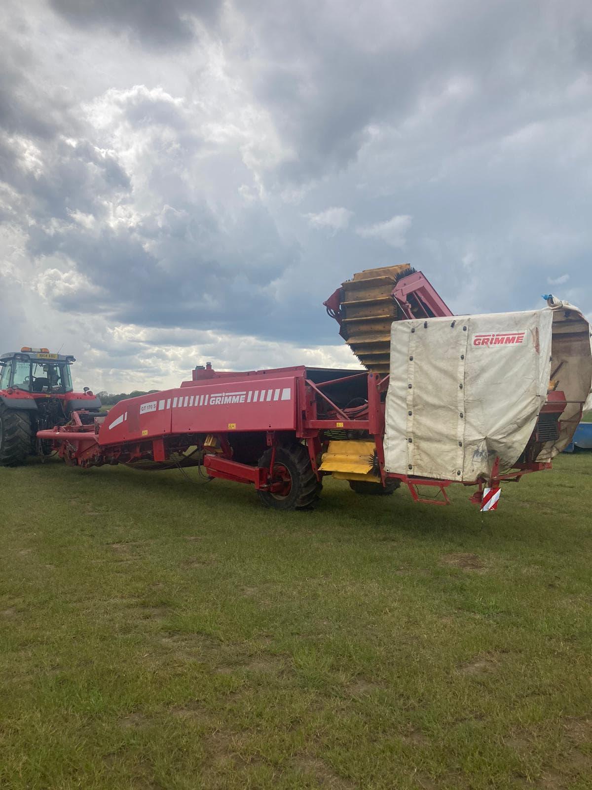 Grimme GT170S Potato Harvester