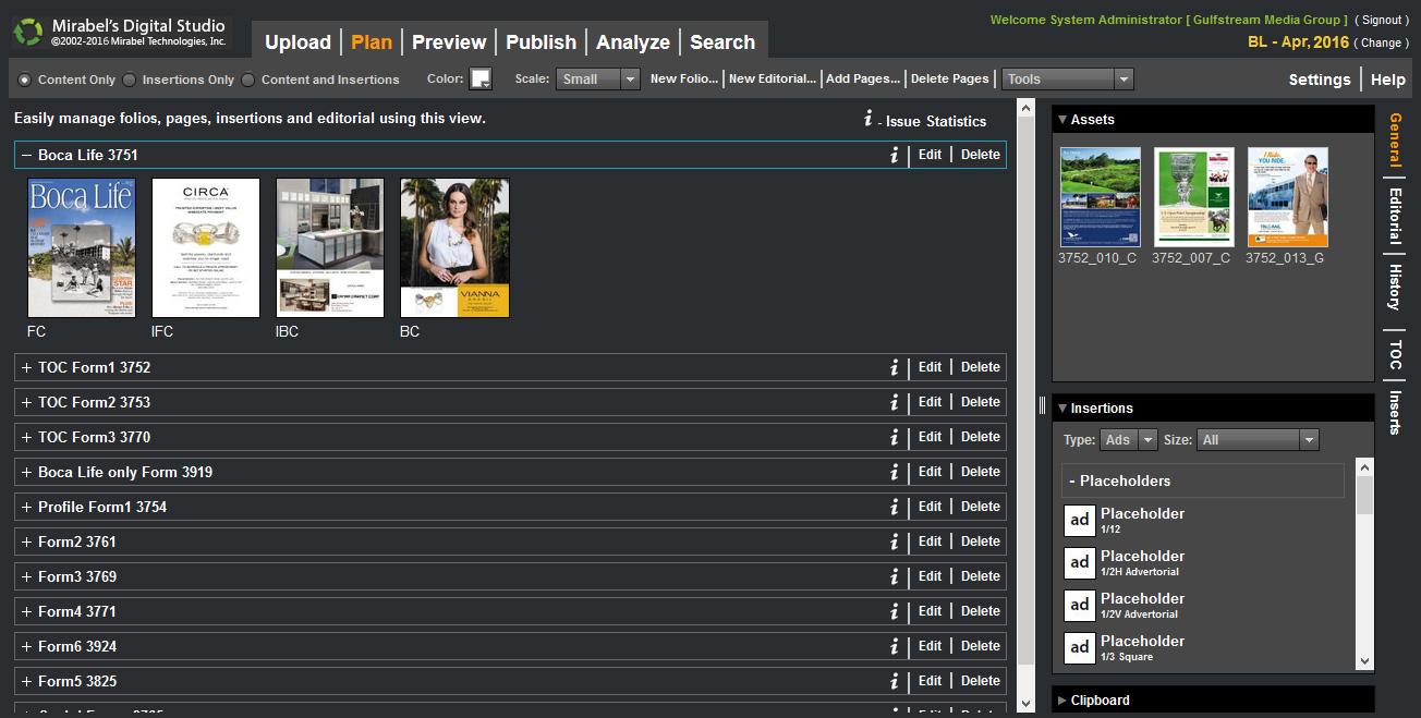 Online Pagination & Magazine Flat-Plan Software