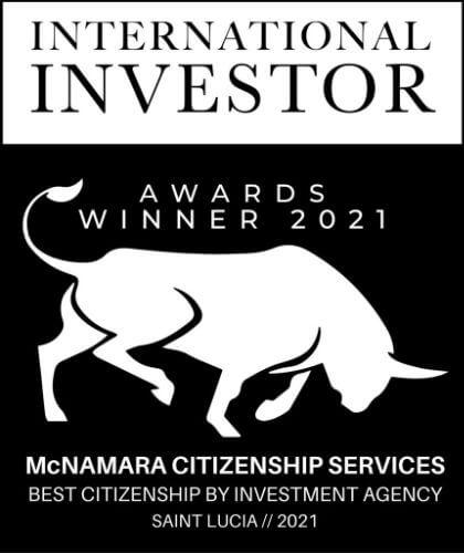International Investor 2021 Winner award