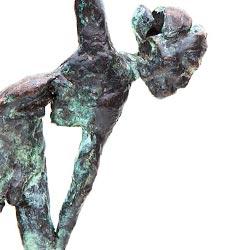 Ballet Beeld Brons