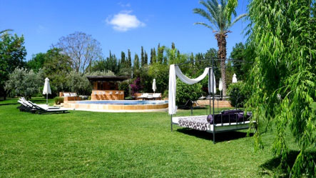Villa Dinari - view of the gardens