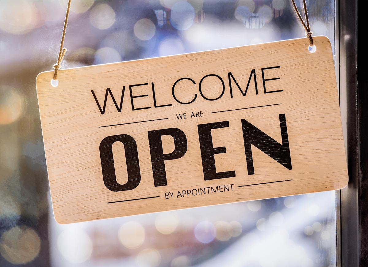 Hurray - we are open again!