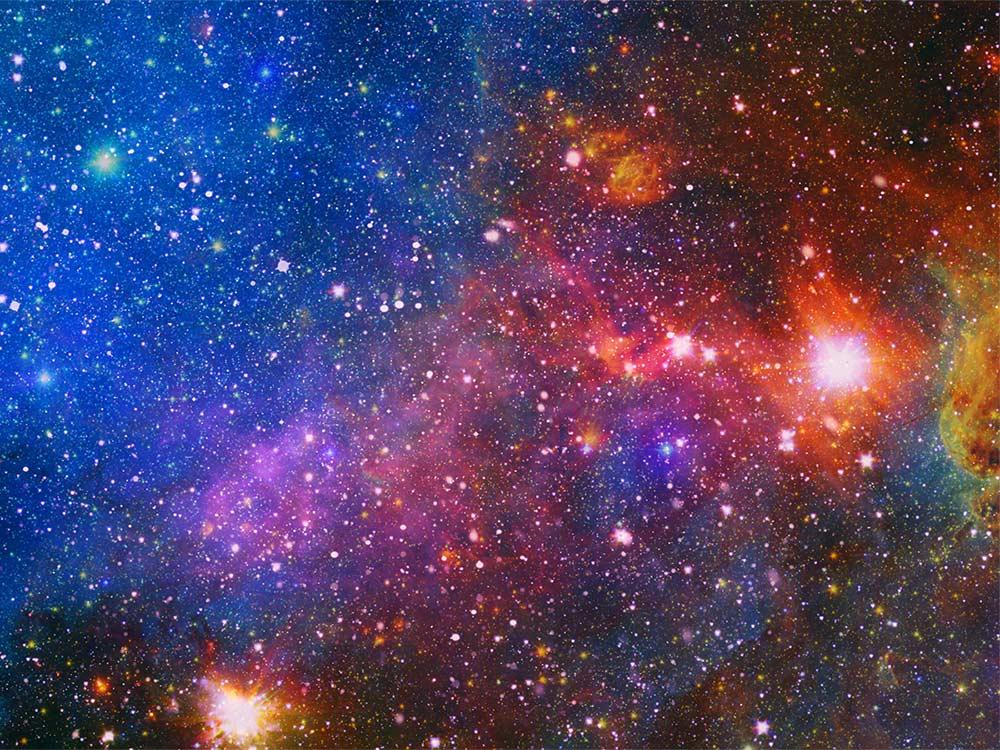 Sky at night - lots of stars