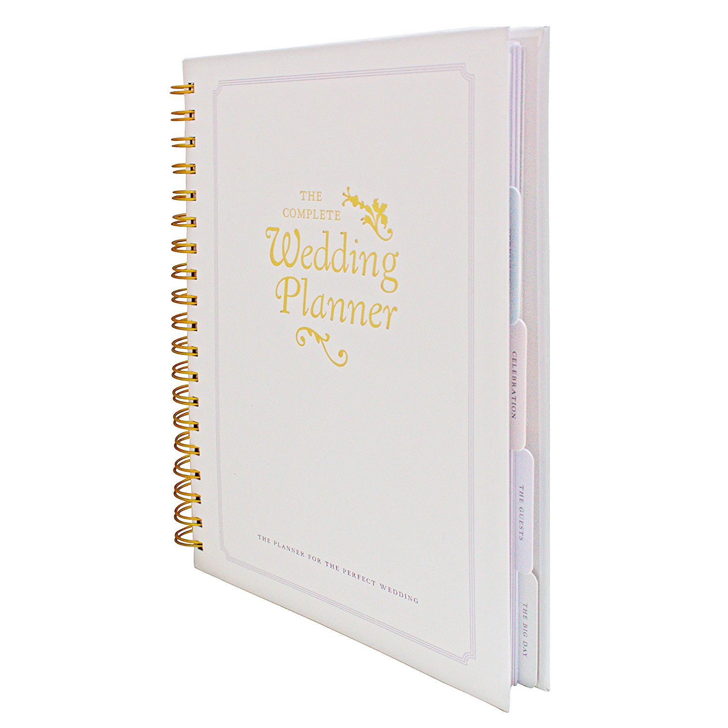 The Complete Wedding Planner Book and Organiser by DayWorks