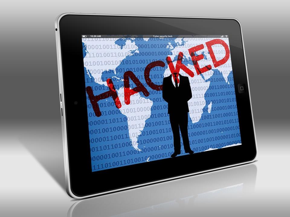 Tablet security breach