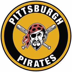 Yellow and Black Pittsburgh Pirates logo