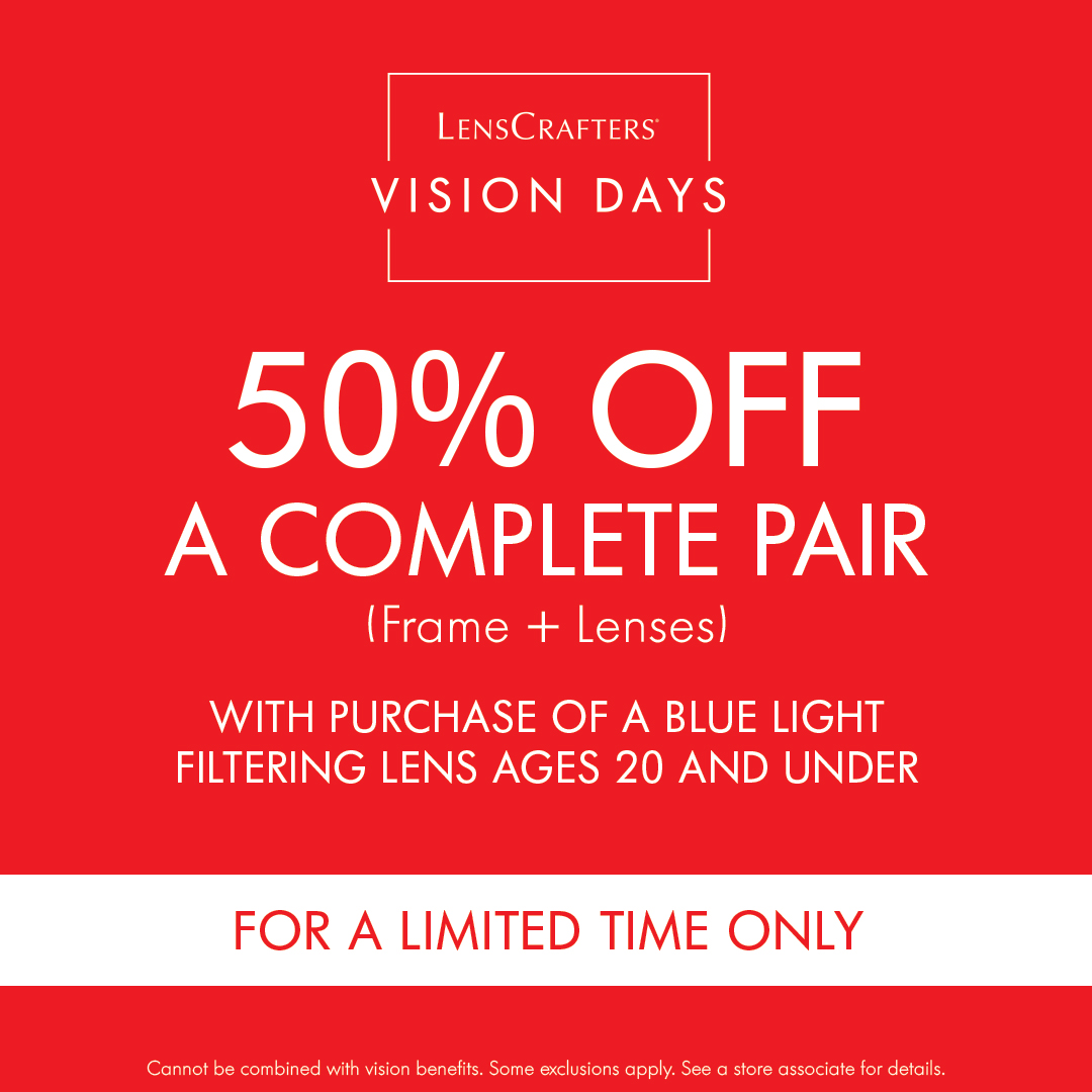 50% off complete pair