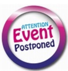 Event postponed graphic